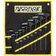 Pedros Pro T/L Handle Hex Set - 9 Piece