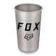 Fox Brush Stainless Pint Glass