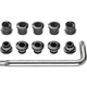 FSA Torx Alloy Chainring Nut/Bolt Sets