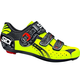 Sidi Genius Fit Fluo Yellow Road Shoes