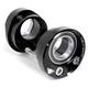 Wheels Manufacturing Eccentric BB Black, BB30, Shimano, 24mm