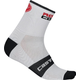 Castelli Rosso Corsa 6 Cycling Socks Men's Size XX Large in White