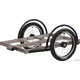 Surly Ted Short Bed Trailer Silver, Hitch Sold Separately