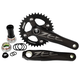 Shimano Zee Fc-M640 68/73mm Crankset Black, 170mm, with 36 Tooth Chainring