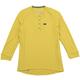 Ketl Women's 3/4 Sleeve Jersey Size Extra Large in Mustard