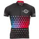 Jenson USA Men's Road Jersey Size Small in Gradient Cyan/Red/Black