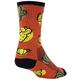 Sockguy Cacti Crew Cycling Socks Men's Size Small/Medium