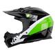 Kali Zoka Pinner Helmet Men's Size Extra Large in Black/Lime