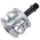 ISSI Flash 1 Mountain Bike Pedals Silver Dollar