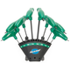 Park Tool Ph-T1.2 P-Handle Torx Wrenchs Green, 8 Torx Wrenches with Holder