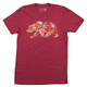 Tasco MTB Gear Bear T-Shirt Men's Size Extra Large in Espresso/Heather Red