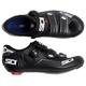 Sidi Alba Carbon Men's Road Bike Shoes Size 45.5 in Black