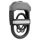 Hiplok Dxc Wearable 14mm U-Lock Gray
