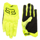 Fox Attack Mountain Bike Gloves 2018 Men's Size Small in Yellow/Black