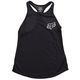 Fox Women's Indicator Tank Size Extra Large in Black