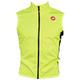 Castelli Pro Light Wind Cycling Vest Men's Size Medium in Yellow Fluo