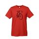 Mechanical Threads Bike Sketch T-Shirt