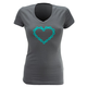 Dhdwear Chainheart Womens T-Shirt