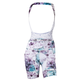 Shebeest Petunia Cycling Bib Shorts Women's Size Extra Large in Ethereal - White
