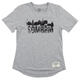 Sombrio Women's Second Decade Tee Size Large in Grey