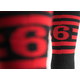 Twin Six Power of Six Cycling Socks Men's Size Large/Extra Large in Black/Red