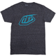 Troy Lee Designs Logo Tee Men's Size XX Large in Black/Reflective