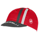 Castelli Podio Doppio Cycling Cap Men's in Red