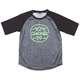 Kid's Dropout S/S Jersey Size 6 in Black