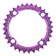 Race Face 104 Bcd Narrow Wide Chainring Red, 38 Tooth