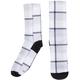 Canari Signature Cycling Socks Tartanic - Vintage Grey, Large/Xlarge Men's Size Large/Extra Large in Tartanic/Vintage Grey