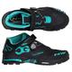 Northwave Enduro Mid Shoes Men's Size 42 in Black/Aqua