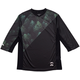 Spacecraft Tree Top 3/4 Sleeve Jersey Men's Size Small in Forest