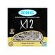 Kmc X12 12 Speed Chain Silver, 12 Speed, 126 Links