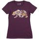 Tasco Gear Bear Women's T-Shirt Size Extra Large in Plum