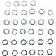 Whisky Stainless Spoke Nipple Washers Bag of 34