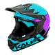 Kali Zoka Switchback Helmet 2019 Men's Size Youth Large in Gloss Blue/Purple/Black