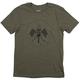 100% Valkyrie T-Shirt 2018 Men's Size Medium in Fatigue