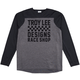 Troy Lee Designs Skyline LS Checker Men's Size Extra Large in Checker Heather Gray/Black