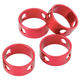 Msr Camring Cord Tensioner Red, 4 Cam Rings