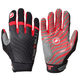 Castelli Cw 6.0 Cross Gloves Men's Size Extra Large in Black/Red