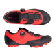 Fizik Vento X3 Overcurve Mountain Shoes Men's Size 38 in Red/Black
