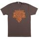 Twin Six Riding Season T-Shirt 2019 Men's Size XX Large in Brown
