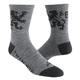 Twin Six Brew Pub Wool Socks 2019 Men's Size Small/Medium in Grey