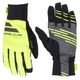 Pearl Izumi Escape Softshell Gloves Men's Size Small in Black/Screaming Yellow