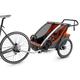 Thule Chariot Cross 2 Multisport Trailer Cycle/Stroll, Roarange, 2 Kids