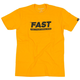 Fasthouse Ticket Tee 2019 Men's Size Extra Large in Gold
