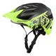 Troy Lee A1 Mips Classic Youth Helmet in Grey/Yellow