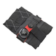 Silca Seat Roll Premio Saddle Bag Black, with Boa Closure