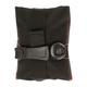Silca Seat Roll Grande Americano Bag Black, with Boa Closure