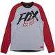 Fox Ranger Dri-Release Fox LS Jersey '19 Men's Size Medium in Grey
